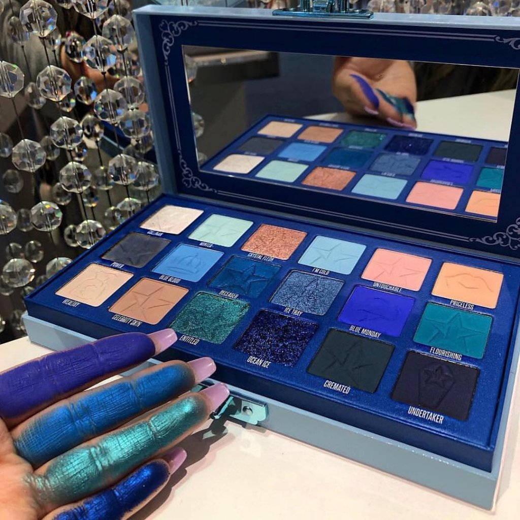 Paleta de sombras blue blood
